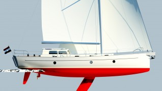 More exterior, visualisations for the BV45 pure : KM Yachtbuilders