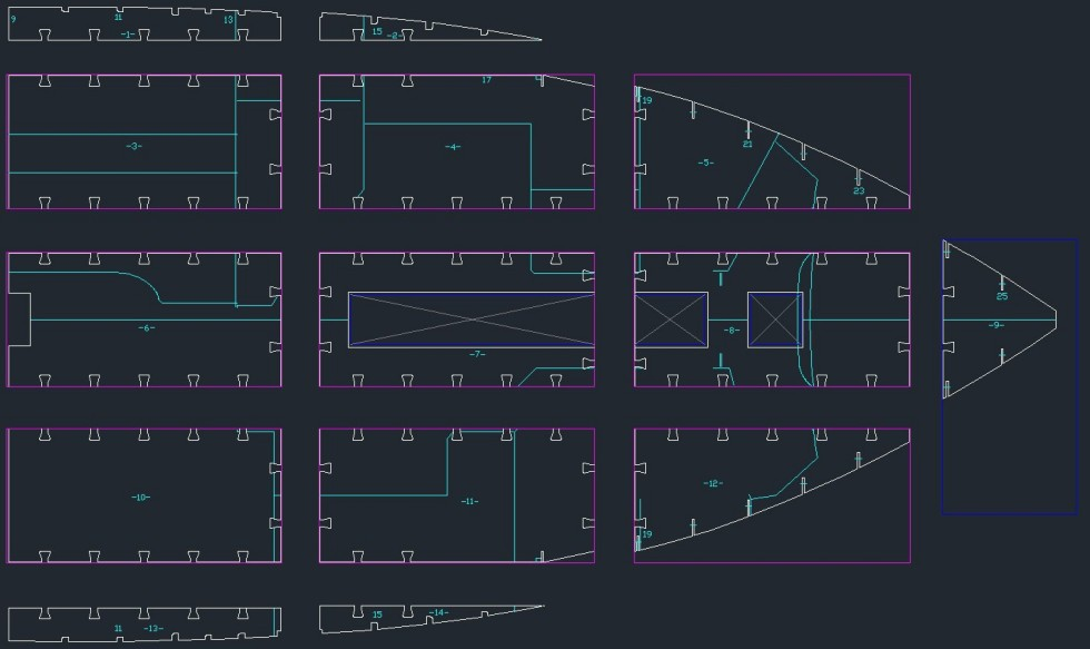 3d Line Design : Thomasz yachts d line design