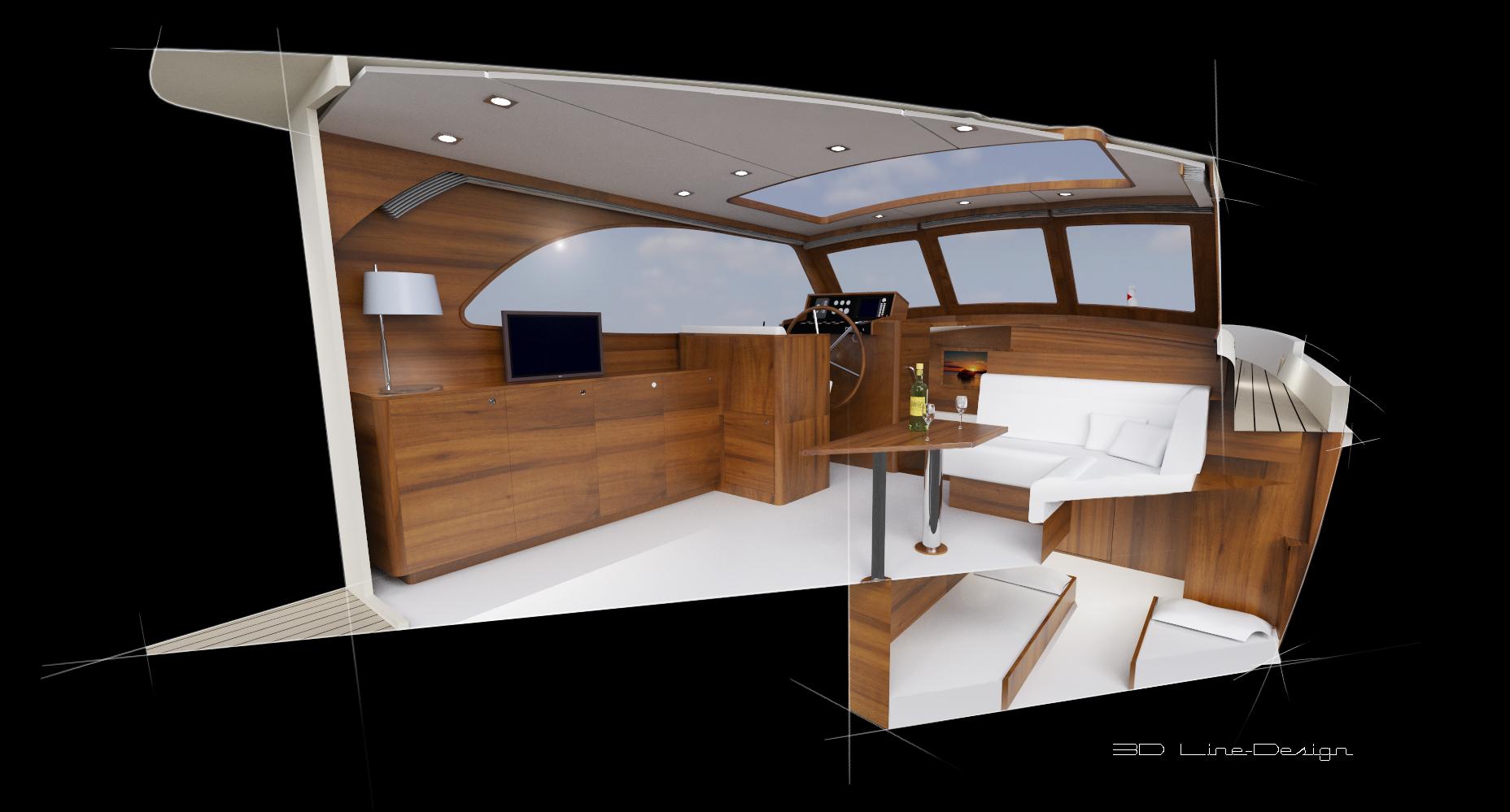 Zwart met witte lijnen zon 3d line design3d line design - Zwart design lounge en witte ...