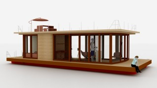 Houseboats / Varende woonschepen