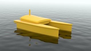 Ontwikkeling sonar bootje